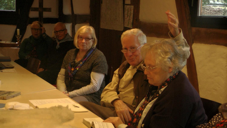 Mathilde, Peter, Christel, Kalla, Ursel 2