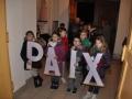 Friedenslicht in Leidingen, Kinder tragen den Frieden