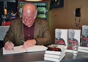 Dr. Norbert Blüm, 2011 Signierstunde in Ibbenbüren