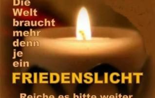 """""""Hoffnung schenken – Frieden finden"""""""