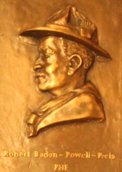 Robert Baden-Powell-Preis Plakette