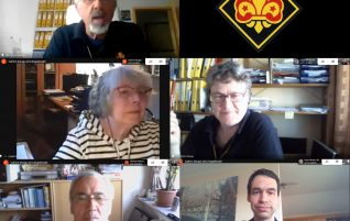 VDAPG Vorstand trotzt dem Corona-Virus